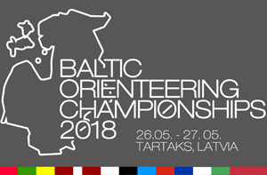 GPS tracking at Baltic Orienteering Championships