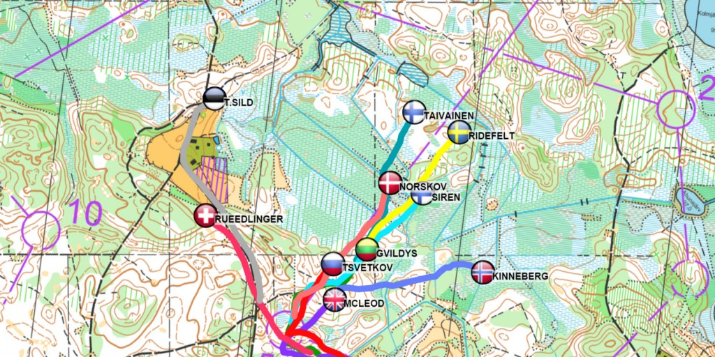 Euromeeting GPS route choice
