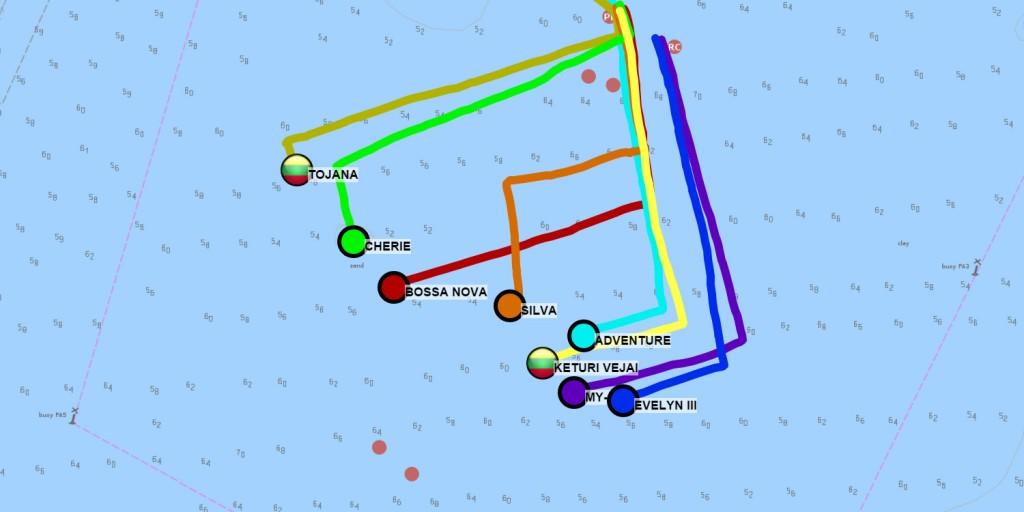 Inshore ORC sailing GPS tracker