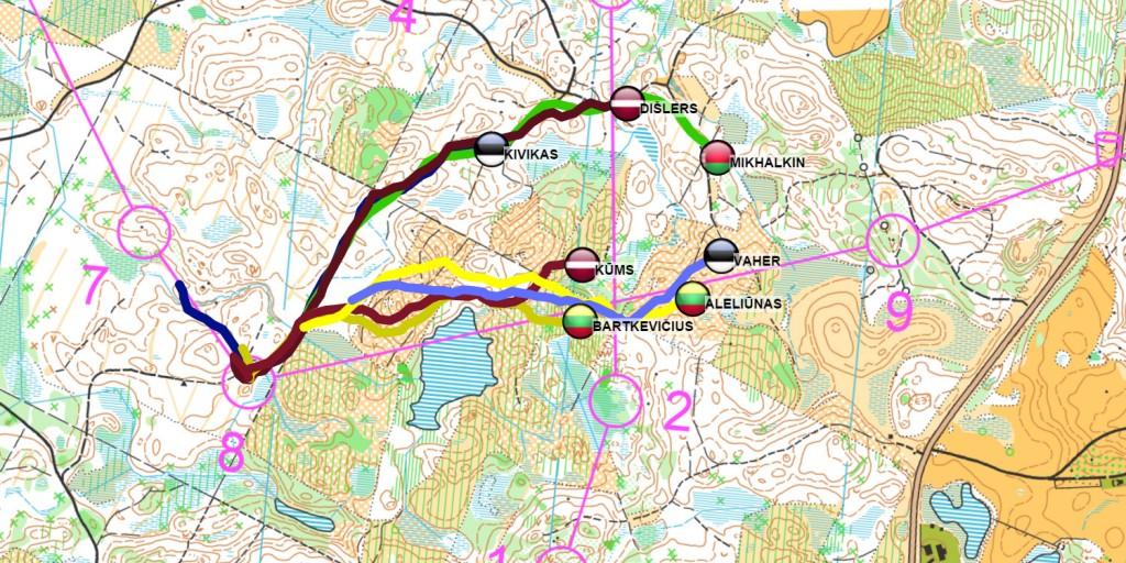 GPS sekosana Latvia