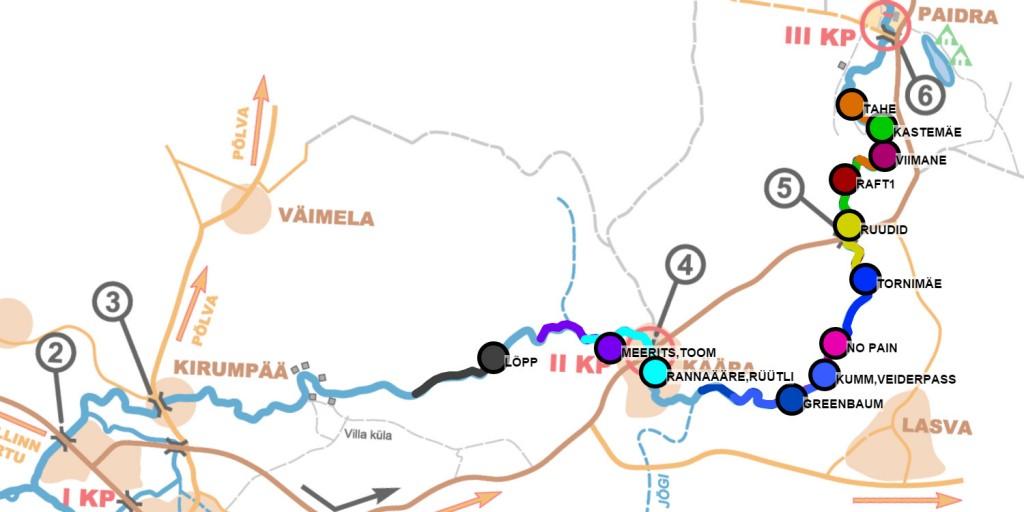 Paddling marathon GPS tracking