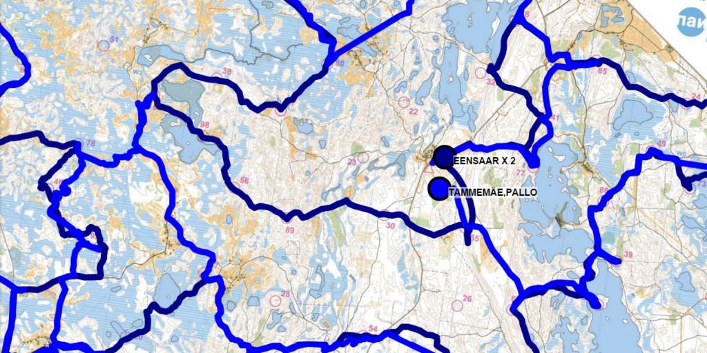 Endurance sport live GPS tracking